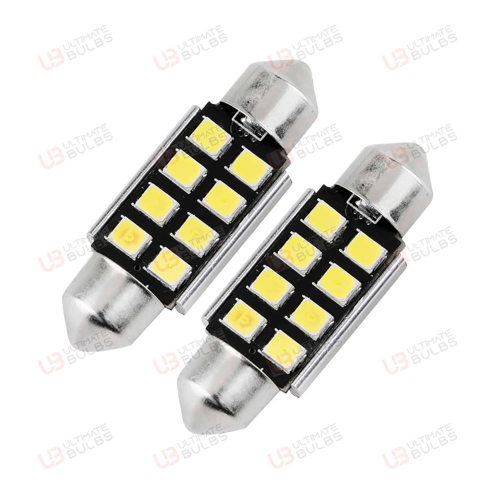 For Mini Cooper S JCW R53 239 C5W White Interior Courtesy Bulb LED Light Upgrade