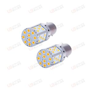 Vauxhall Astra H Rear Amber LED Indicator Bulbs - 2 Pack